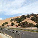 Las dunas desde abajo