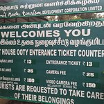 Ticket counter for boating