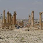 Impressive Roman colonnades.