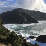 View from The Heceta Head Lighthouse