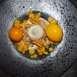 Deconstructed Passionfruit Cheesecake