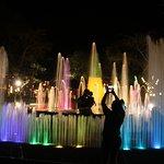 """Luzes e """"dança"""" das águas"""
