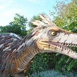 ricostruzione dinosauro pennuto