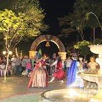 Apresentação de dança medieval