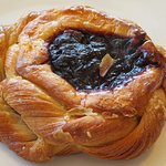 Blueberry Cream Danish