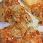 Hot wing chicken pizza - On Happy Hour Menu