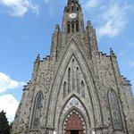 eu em frente a catedral