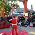 Jeweled Dragon Acrobats at China Pavilion