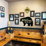 Black Bear Diner waiting area