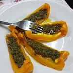 Peperoni con acciughe e salsa verde