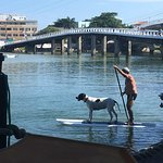 Stand Up paddle na lagoa