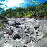 corrosão curiosa das pedras