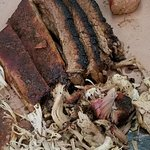 Sample of several meats