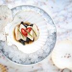 Сашими из морского гребешка (480 руб.)