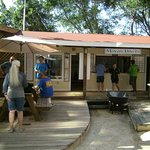 Check in at Mayan Divers