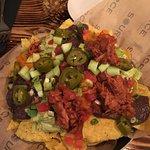 THE nachos with jack fruit