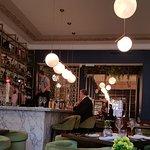Restaurant Interior Bar Area