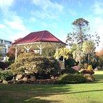 Summer House in Albury Botanic Gardens