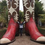Botas gigantes!