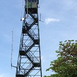 Fire tower you can climb.