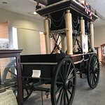 Jefferson Davis Funeral Carriage in the museum