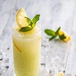 Fresh mint lemonade made daily