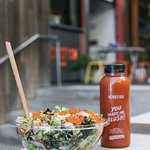 Healthy takeaway and dine in options