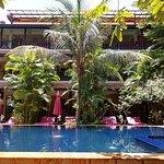 Poolside at Siddharta