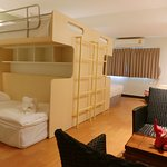 Family Room with Bunk beds