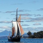 The Bruny Island overnight cruise. Yukon can accommodate 8 passengers on the overnight cruises.