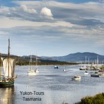 Calm River Cruise on The Huon River out of Franklin, in The Huon Valley.