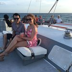 Octopus Aruba Sunset Sailing Enjoy a warm welcome aboard from your friendly captain and crew, th
