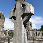 Celtic cross in the Abbey