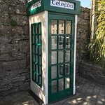 Telephone booth just outside the Abbey ruins