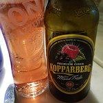 Very tasty fruit cider
