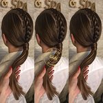 Braided hairstyle by Gabi