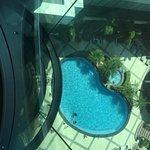Looking Down on Pool