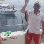 marbella boat fishing trip hen party children fishing puerto banus costa del sol