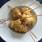 Bocconcini di cernia in tempura al limone