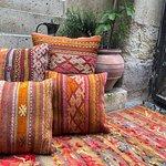 Vintage kilim throw pillows
