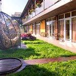 Отель Пальма в Затоке обновлена зона отдыха