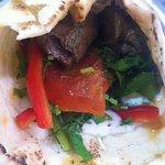 Delicious kebab wrap !!!!