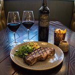 Steak at Dobson & Parnell