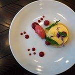 Lemon tart at Dobson & Parnell