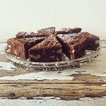 Rye Chocolate and Walnut Brownies