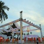 Dance Floor at Coco Del Mar Beach Lawns