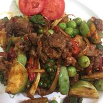 Special spicy Thai food