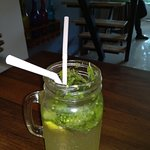 Passion fruit flavoured Mojito