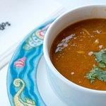 Sopa de peixe. Fish soup.