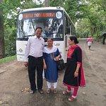 Tour by their bus